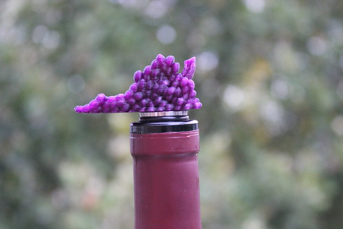 3D Printing - Virginia is for Wine Lovers Wine Stopper (Close)