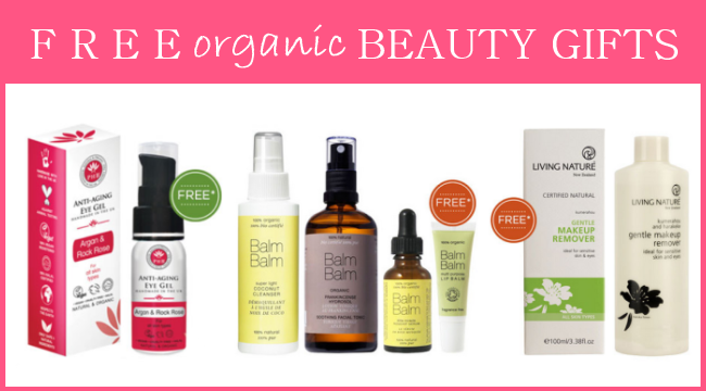 Weekly Discounts and Free Organic Beauty Gifts #38