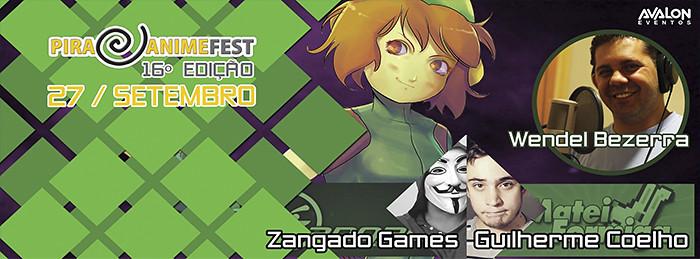 Vem aí o 16° Pira Anime Fest,com Atrações Especiais e muita Diversão