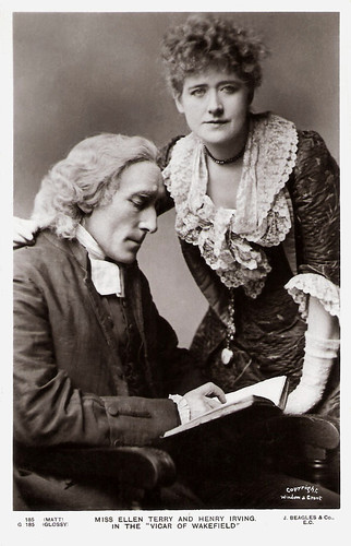 Ellen Terry and Henry Irving in The Vicar of Wakefield