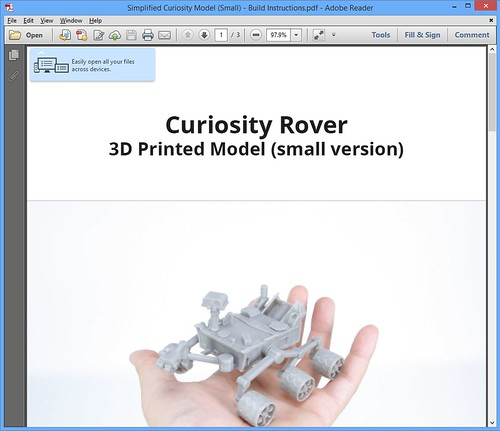Fun Print - Curiosity Rover