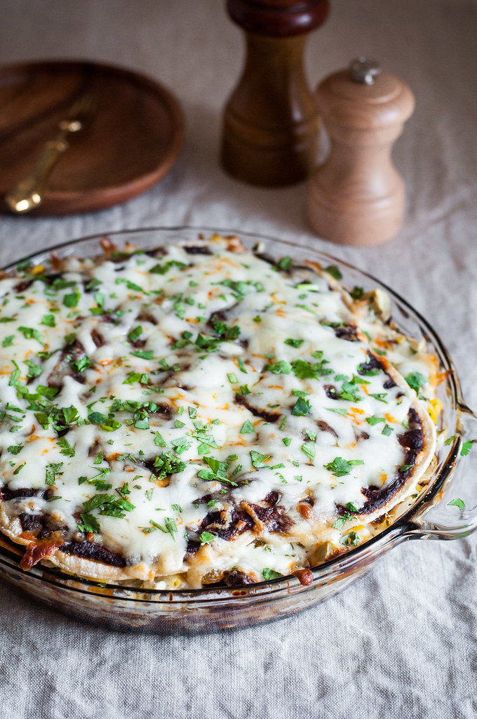Enchilada PIE recipe!