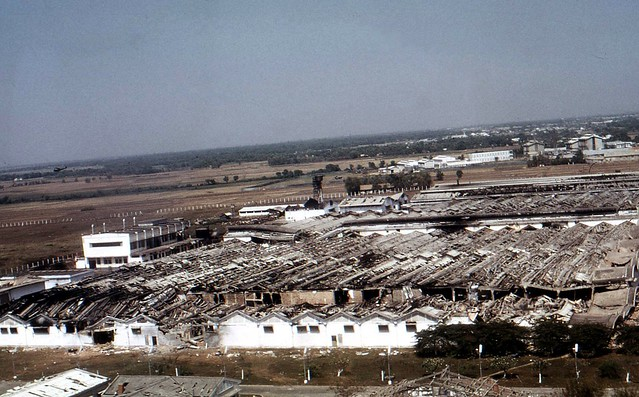 Photograph #7 - Vinatexco Textile Factory, home base for the enemy during TET 1968