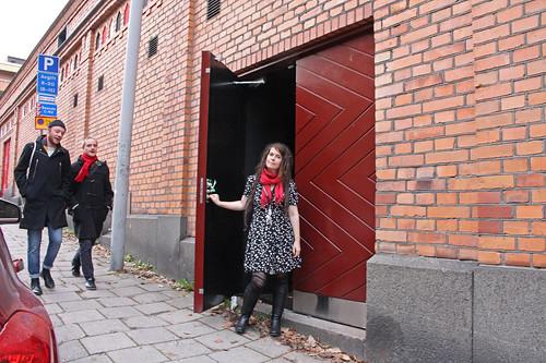 Ny entré, Frida Nyström
