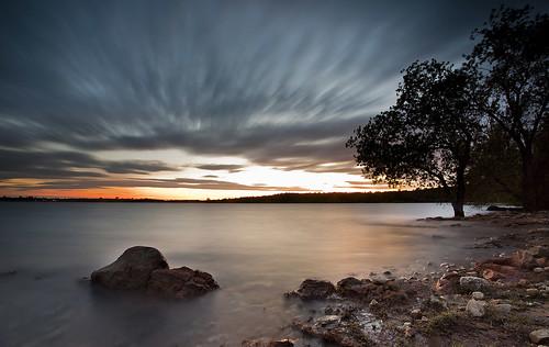 california ca sunset sky sun lake tree nature water clouds sunrise landscape rocks folsom sacramento folsomlake bidun sergeybidun