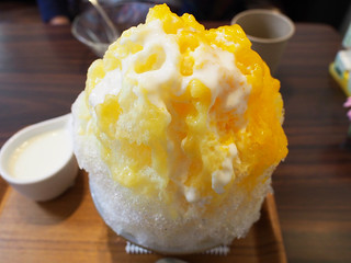 Japanese Ice Shaved - Mango with Pineapple