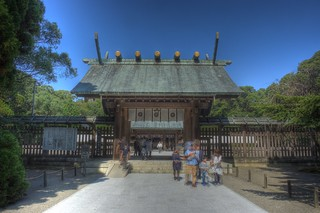 Miyazaki Jingu Shrine on OCT 25, 2015 (1)