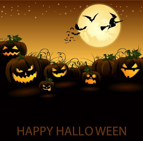 jack-o-lantern-pumpkin-in-halloween-night-vector-graphic-31427