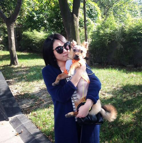 Tuffy with Ms Yan
