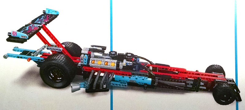 Your First Look At The New Technic Dragster Brickset Lego Set