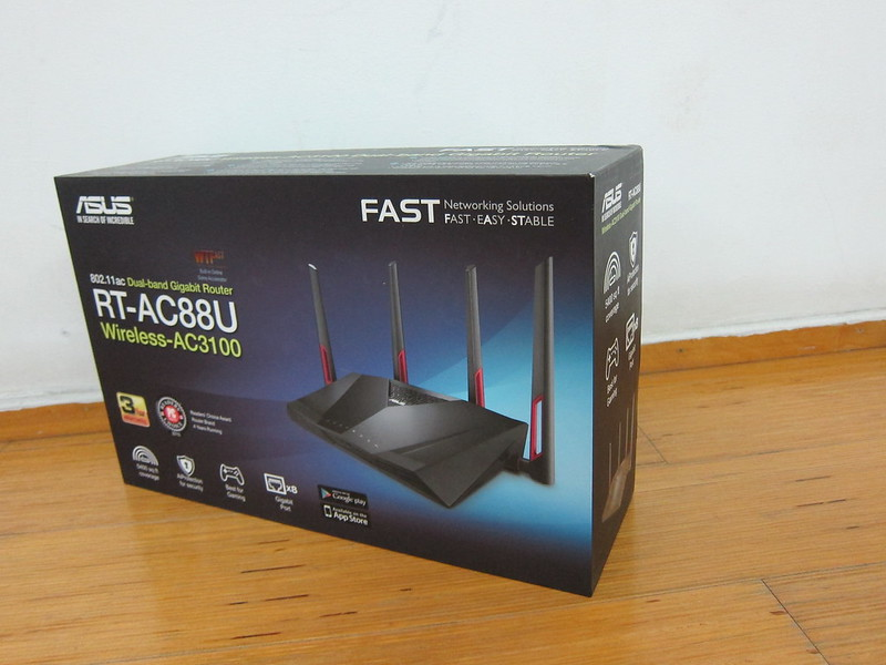 Asus RT-AC88U Router - Box