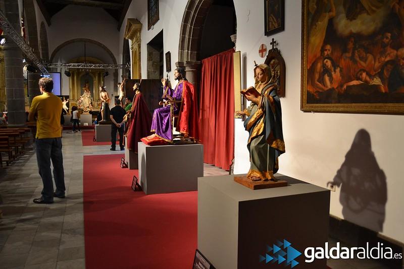 Inauguración exposición bicentenario muerte de Luján Pérez