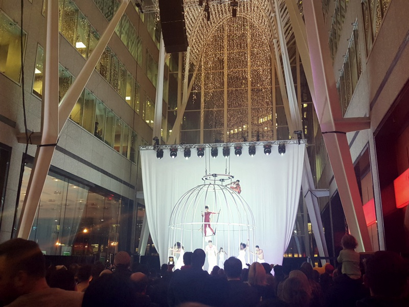 Brookfield Place Holiday Lighting Ceremony