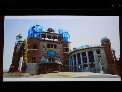 映画『創造と神秘のサグラダ・ファミリア』トークイベントより ©佐藤健寿