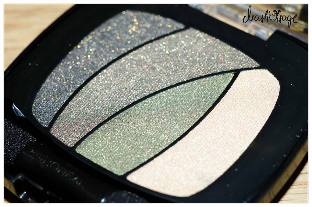 тени l'oreal shocking jungle jade s6 swatches