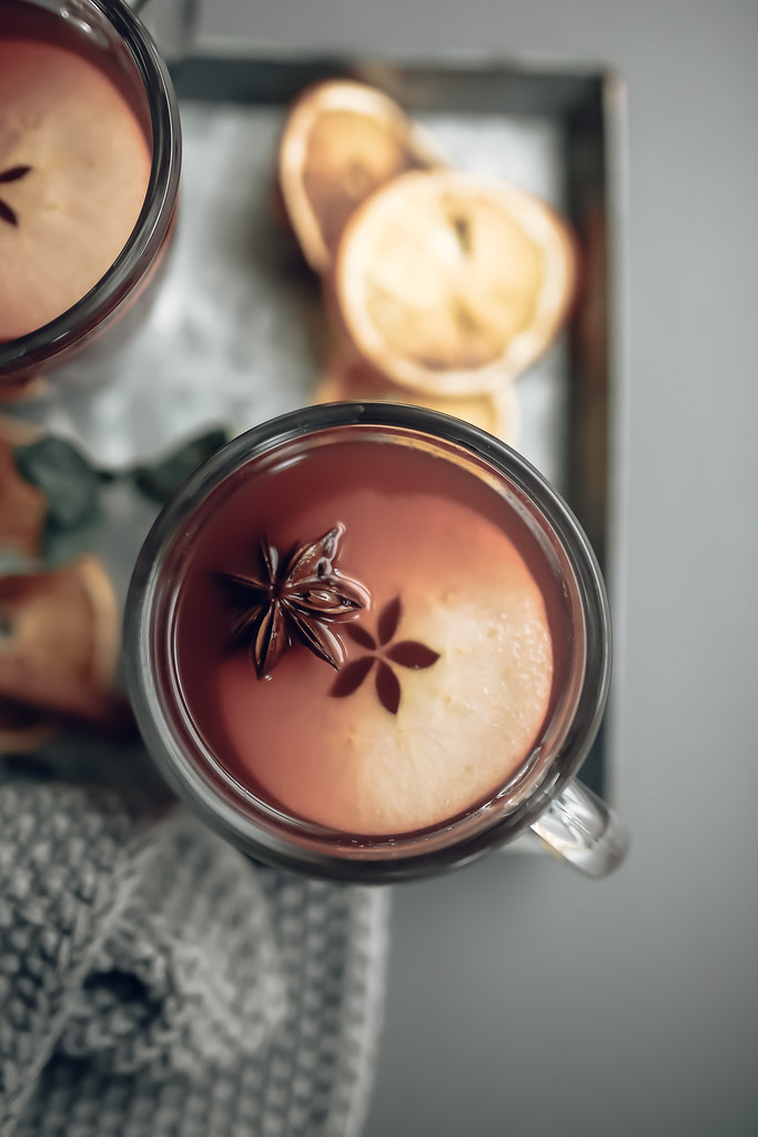 Mulled Apple & Pomegranate Juice