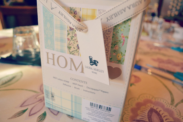 Laura Ashley home craft kits