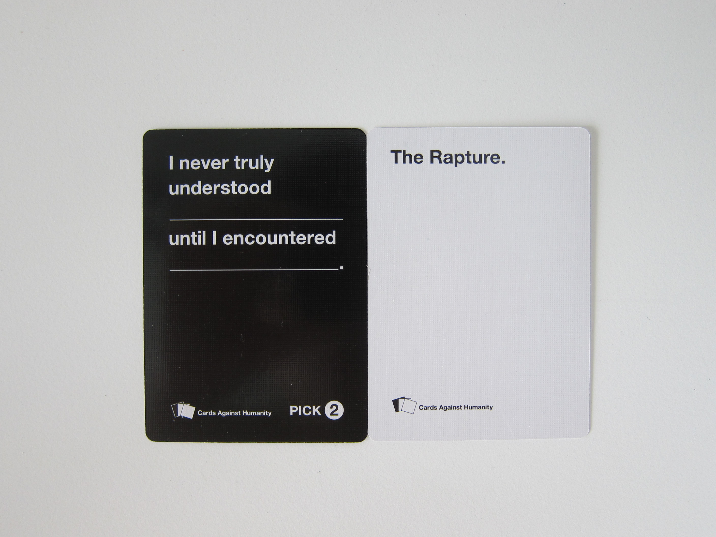 Cards Against Humanity « Blog | lesterchan.net