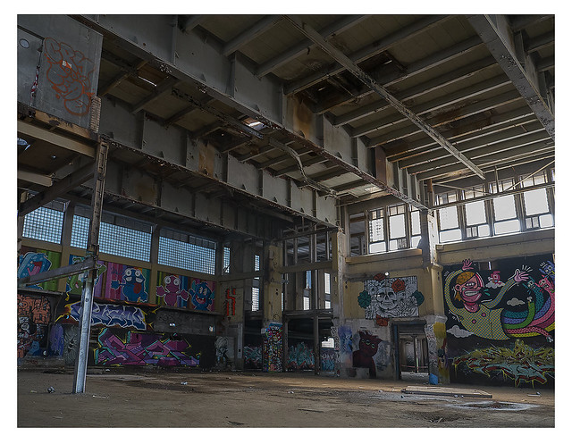 Empty stage - arrested redevelopment (2) (Dance factory (5) (UF 142)