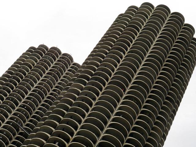 Marina City, Chicago, Illinois, USA
