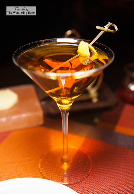 Lady Liberty - Bastille Whisky, Carpano Antica, Vermouth, .Orange Bitters