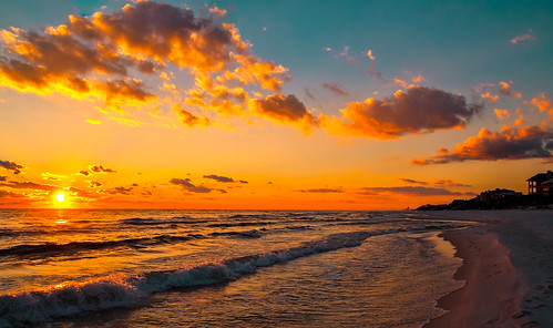 rosemarybeach florida beach beachscape gulfofmexico miamifl miamibeaches exploration urban unitedstates seashore seascape afternoon sunset colors skies clouds outdoors travelling tourism