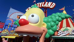 Universal Studios Hollywood: The Simpsons Ride