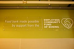 Employees Community Fund Sign