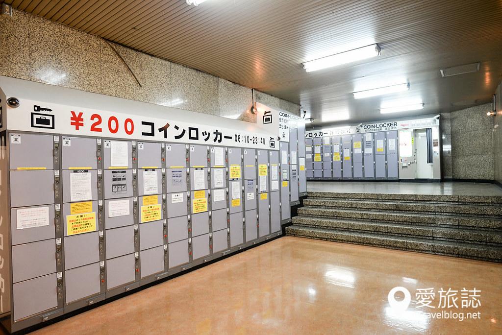 东京车站置物柜 09