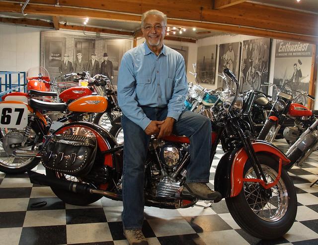 Love Ride Founder: Oliver Shokough on his 1946 Harley-Davidson FL