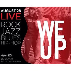 LIVE TOMORROW!!! Velocity 5 in Centreville, showtime at 7:30. #weup #live #band #blues #rock #hiphop #covers #illest #igdaily #instafresh #artistic #lovewhatyoudo #creativity #official #organic #original #BeWise #WisdomPrevails #NeverPanic #MadeintheUSA #