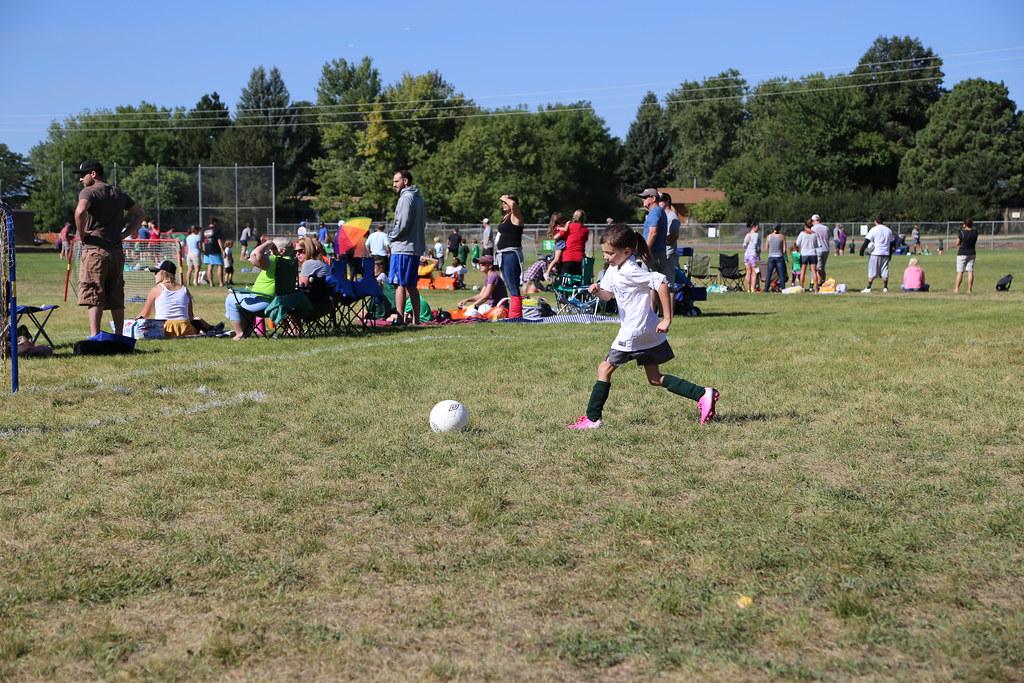 Kayla's 1st Soccer Game