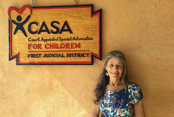 CASA volunteer Doreen Sansom.