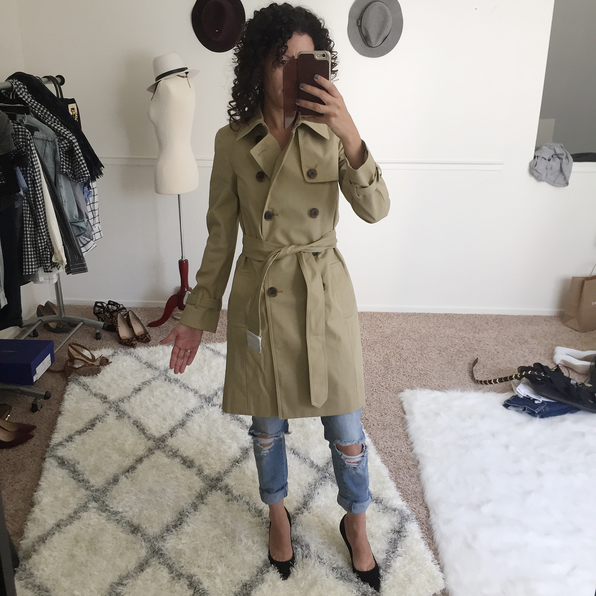 J.Crew trench coat review