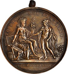 United States Diplomatic Medal obverse