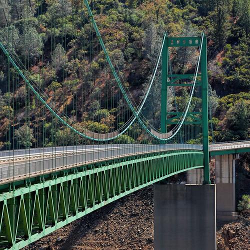 Lake Oroville Bridge