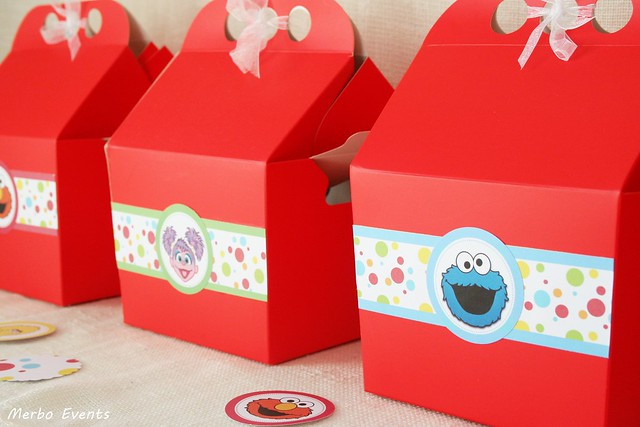 Cumpleaños Elmo Plaza sesamo Merbo Events