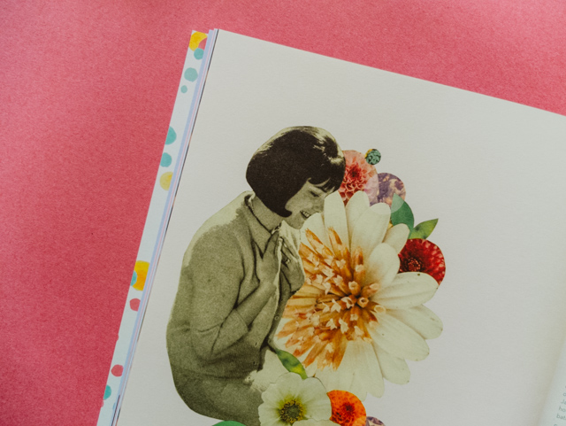 collage by laura redburn in betty annual