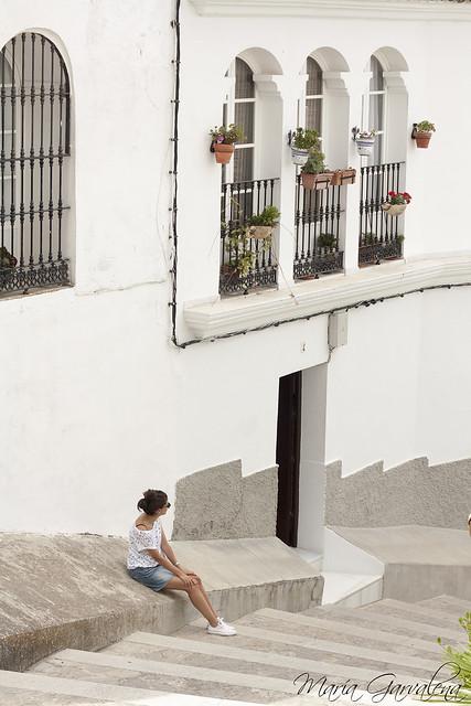 Calles blancas en Medina Sidonia