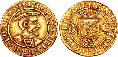 Lot 1088 SCOTLAND. James V Ducat