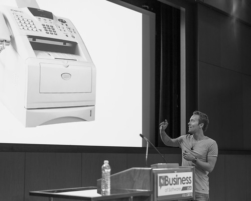 DHH: Our Software is a Fax Machine