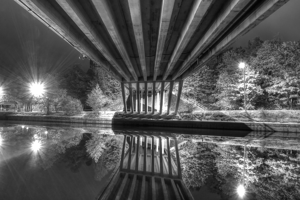 Bridge of Jaunciema gatve / Riga / Latvia