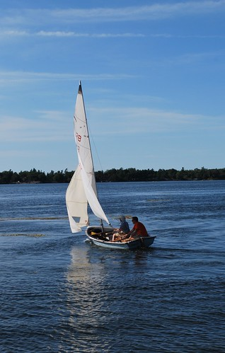 End of the season sail
