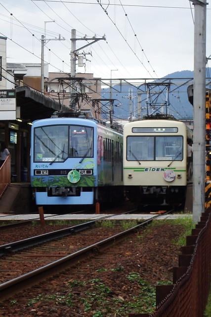 2015/09 叡山電車×NEW GAME! ラッピング車両 #34