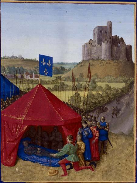 fouquet_death_bertrand_du_guesclin_1460