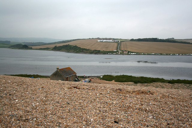 The Fleet from Chesil Beach