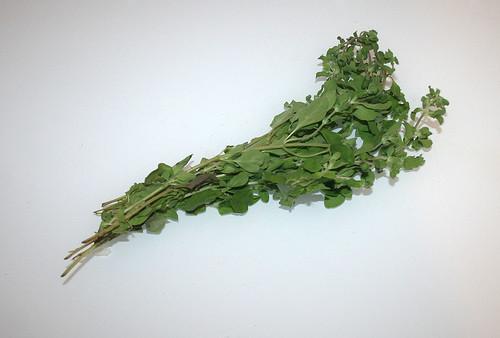 04 - Zutat Majoran / Ingredient majoram