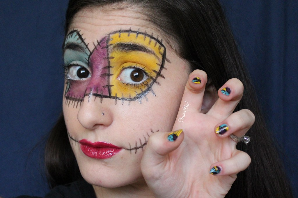 Claws Up!: Mix & Match: Makeup Looks Sally's Song