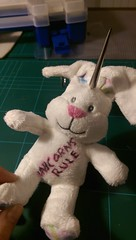 Pastel goth unicorn bunny FloRaeMe (1)