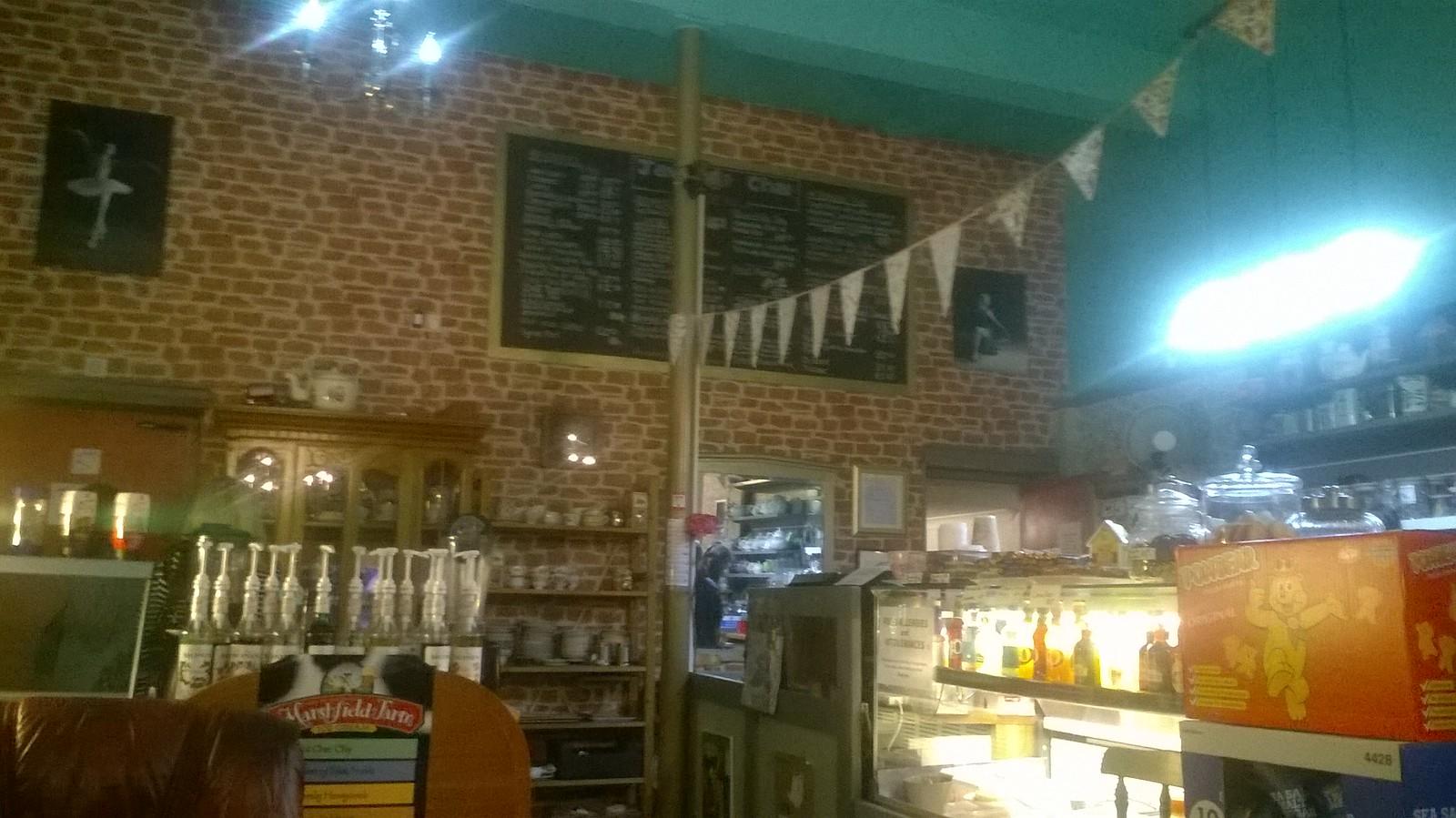 Java Tchai tea room Hayes, Kent